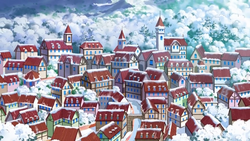 Snowpoint City anime