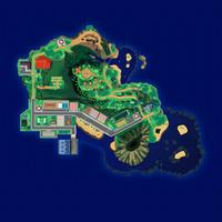 Map Mele-Mele Pola Jagód