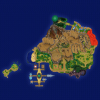 Map Poni Wybrzeże Poni