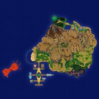 Map Poni Wyspa Exeggutorów