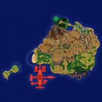Map Poni Wioska Morskiego Ludu