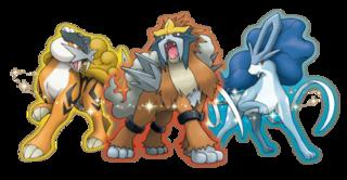 Shiny Legendary Beasts