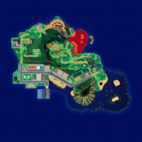 Map Mele-Mele Zatoka Kala'e