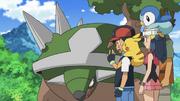 Ash and Torterra