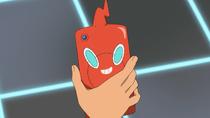 Ash Rotom Phone