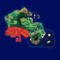 Map Mele-Mele Miasto Hau'oli