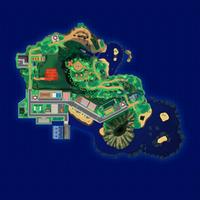 Map Mele-Mele Cmentarz Hau'oli