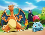 PLEEI Ivysaur and Charizard