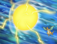 Dragonite Dragon Rage ball