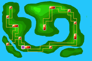 Map Ruined Tower