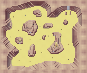 Quake desert map