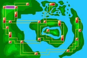 Map Escape Route