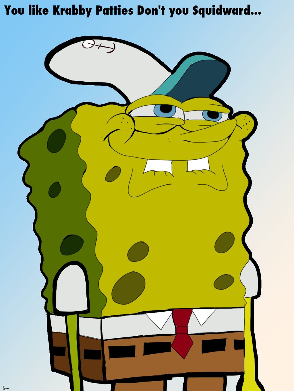 image spongebob hilarious face request by spensicus d5dtqf9 jpg