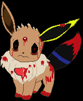 Creepypasta eevee i can be anything you want by smilecat98-d5obxlu