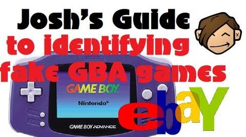 How to spot fake GBA games on ebay - Detailed Guide