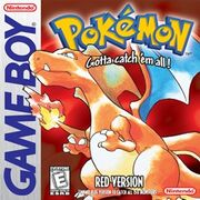 Pokémon box art - Red Version