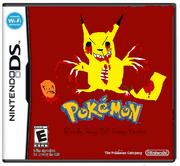 Pokemon Bloody Gory Evil Scary Version