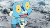 Froakie de Ash no anime XY