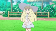 Lillie anime SM