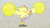Oricorio Estilo Animado de Hobbes no anime Sun e Moon