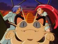 Equipe Rocket Meowth EP002