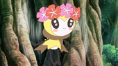 Ribombee no anime Sun e Moon