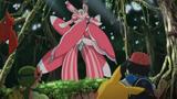 Lurantis Totem no anime Sun e Moon