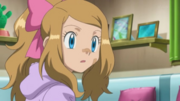 Serena Watching Ash