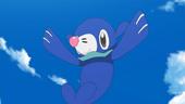 Popplio de Vitória em anime Sun e Moon
