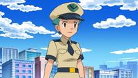 Officer Jenny anime BW
