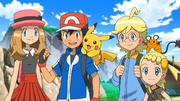 Ash and friends XY