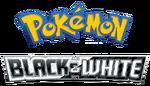 Pokémon the Series Black and White logo