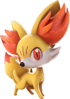 Fennekin em Pokkén Tournament