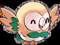 Rowlet de Moon em Pokémon Adventures