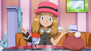 Serena and Fletchling