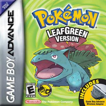 Pokémon FireRed e LeafGreen | PokéPédia | Fandom