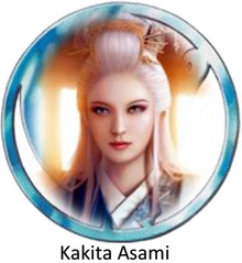 Kakita Asami - daughter of Crane clan negotiator - famed beauty and award giver
