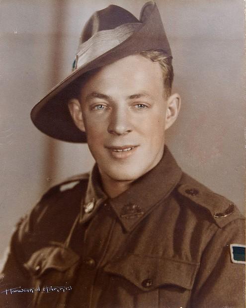Australian WWII soldier