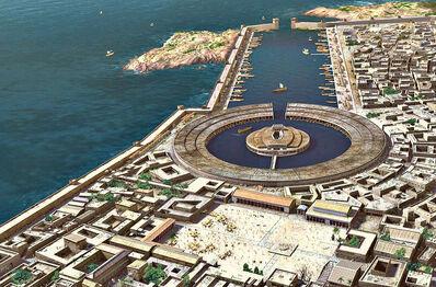 Kythios port