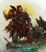 Orc war shaman by arankin-d57zntz