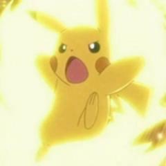 Pikachu usando Trueno