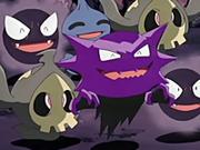 EP027 Pokémon fantasmas felices