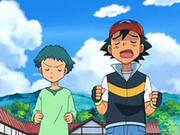 Angie y Ash corriendo