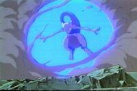 Mewtwo usando explosion