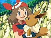 Eevee y May