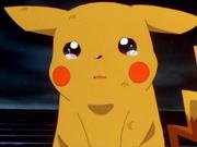 Pikachu llorando