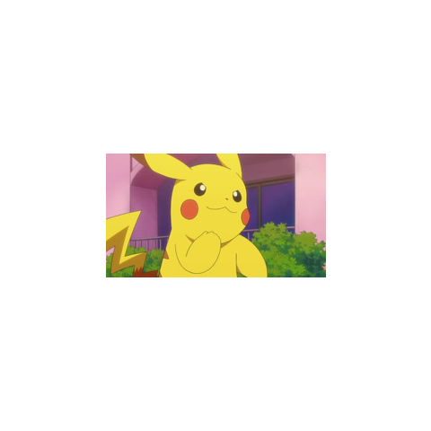 Pikachu animando a Lucho.