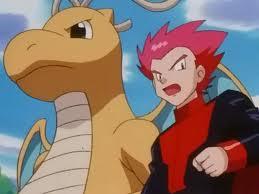 Lance y Dragonite