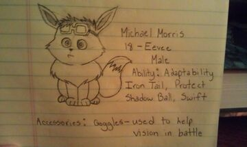 Michael morris referencesheet