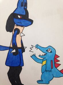Hi i m kevin the lucario chapter 2 title picture by brandonnexus-da7vl6n